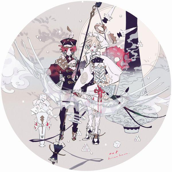 柊の春-ラフ02