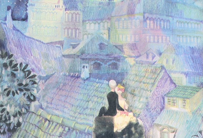 チェコの挿絵とおとぎ話の世界