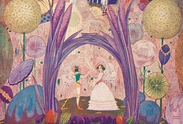 アイルランドの挿絵とステンドグラスの世界 ハリー・クラーク