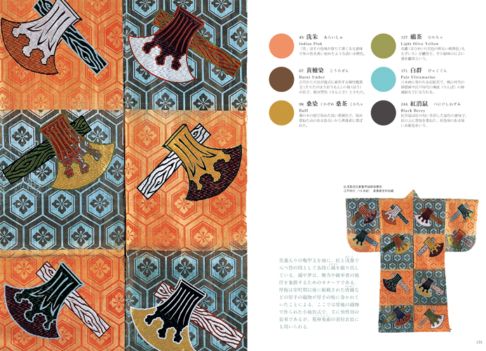 Traditional Japanese Color Palette Pie International