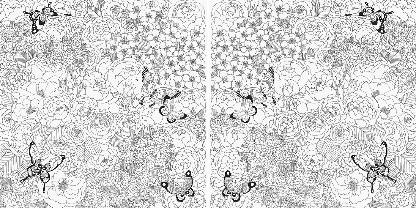 other sample image other sample image - Fairies Coloring Book