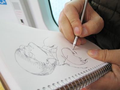 第1回:「それじゃここらでシゴトの絵を描いてみますよ!