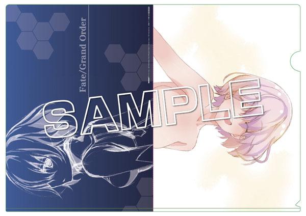 細居美恵子が手掛ける『FGO』OP原画のA4クリアファイル。ふだんは見られない笑顔のマシュが特徴的。細居美恵子が手掛ける『FGO』OP原画のA4クリアファイル。ふだんは見られない笑顔のマシュが特徴的。