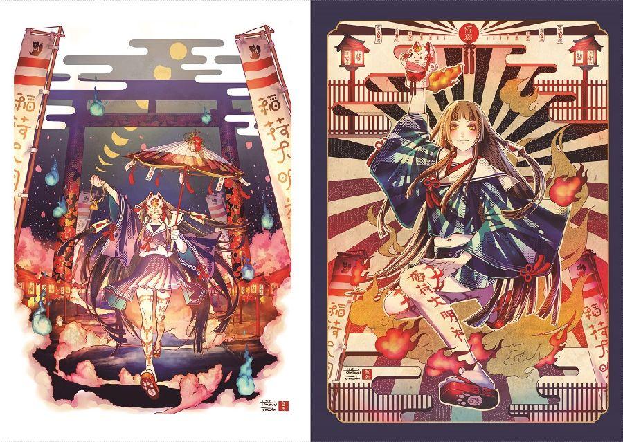 6月13日本日発売6月新刊ゲームのキャラクターデザインのほか多数の