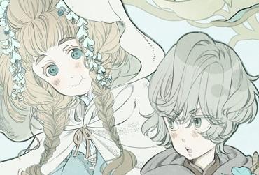 凸凹嘘漫画装画【第3回】「天然お姫様×従者の騎士見習い少女」