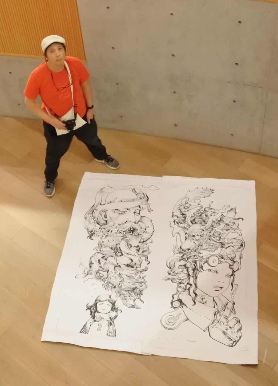 【第5回】5月27日 寺田克也、上海を訪ねる / 【Vol. 5】 May 27th – Katsuya Terada in Shanghai.