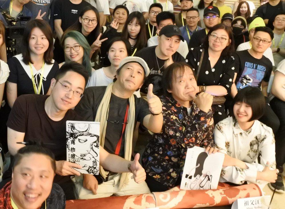 【第9回】5月31日 寺田克也と祖父江慎、北京で語る / 【Vol. 9】May 30th – Shin Sobue×Katsuya Terada, talk event in Beijing –